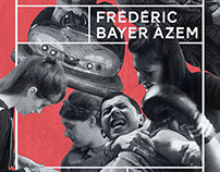 AFFICHE •Retrospective Frederic Bayer Azem