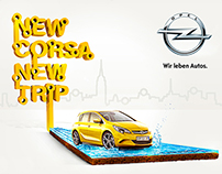 New Opel Corsa / Digital Campaign