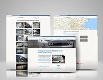 Wordpress Website for FixMyHeadlights.uk