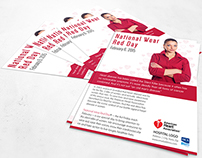 National Wear Red campaign
