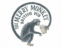 Logo: The Merry Monkey