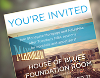Event Invitation to the House of Blues