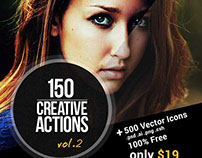 150 Amazing Photoshop Actions