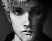 B&W Character Portraits
