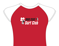 Ohio State University Surf Club identity