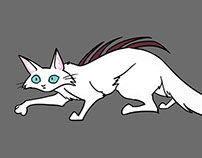 Cagey: Cat Character Design