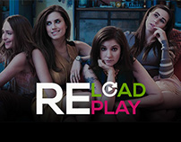Reload & Replay - Streaming website