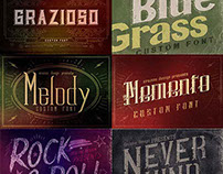 Classic, Vintage, Retro, Grunge Fonts