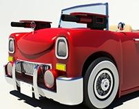Cartoon style Spy Car