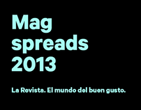 La Revista / Spreads 2013