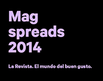 La Revista / Spreads 2014