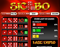 Sic Bo Display