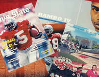Ohio State Athletics game programs