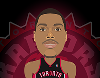 Kyle Lowry Illustration
