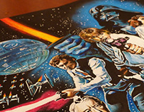 Hand-Drawn STAR WARS Poster