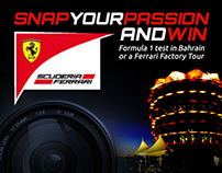 Scuderia Ferrari F1 Web Contest