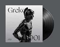 JTS1 Greko 001 - Album and Artwork