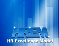 Cover Design for HR Excellence Model Report