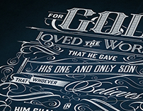 For God So Loved the World | Typography