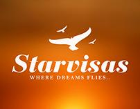 Starvisas Logo Work
