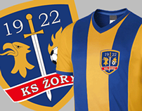 KS Żory new logo