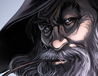 Hobbit / Gandalf - fan art