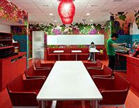 Google Tokyo office interiors