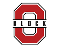 Block O Ohio State Athletics Student Section logo