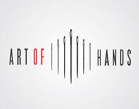 """""""Art Of Hands"""" Logotype"""