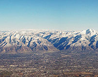 Wasatch Front, Salt Lake City, Utah