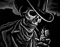 Southern Skeletal Smoker - Scratchboard