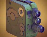 The Camera Project - Low Poly - Part 1