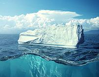 Iceberg manipulation