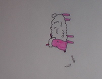 Smoking Sheep Gif