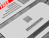 Black & Grey Business Card Template (FREE)