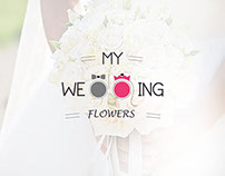 Logo and Web Design for My Wedding Flower