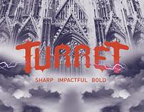 Turret Typeface