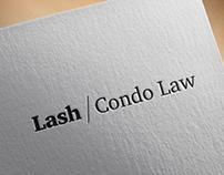Lash Condo Law brand identity