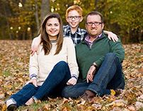 Melody Fall Family Photo Session