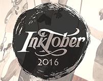 Inktober 2016 - Character Design Series