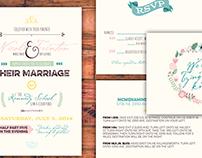 Sneed-Guthrie Wedding Invitations