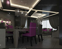 modern reception  lighr design