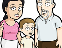 Family Guy Style Commission