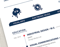 Personal Resume · Curriculum Vitae