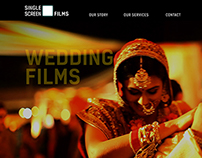 Logo and Website: Single Screen Films