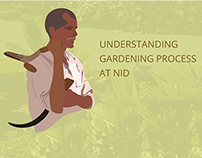 Study of gardening process at NID