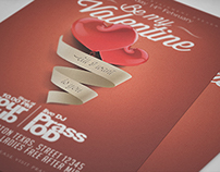 My Valentine Flyer Template