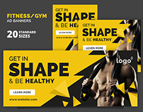 Fitness / Gym Ad Banners