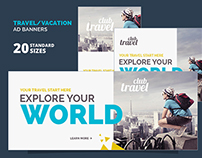 Travel / Vacation Ad Banners