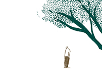 百字凝思: illustration for book